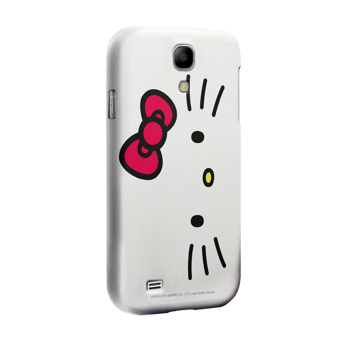 Capa de Celular Samsung S4 Hello Kitty White