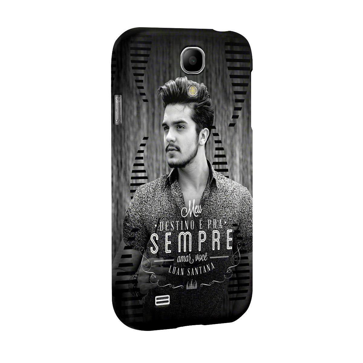 Capa para Samsung S4 Luan Santana Meu Destino P&B