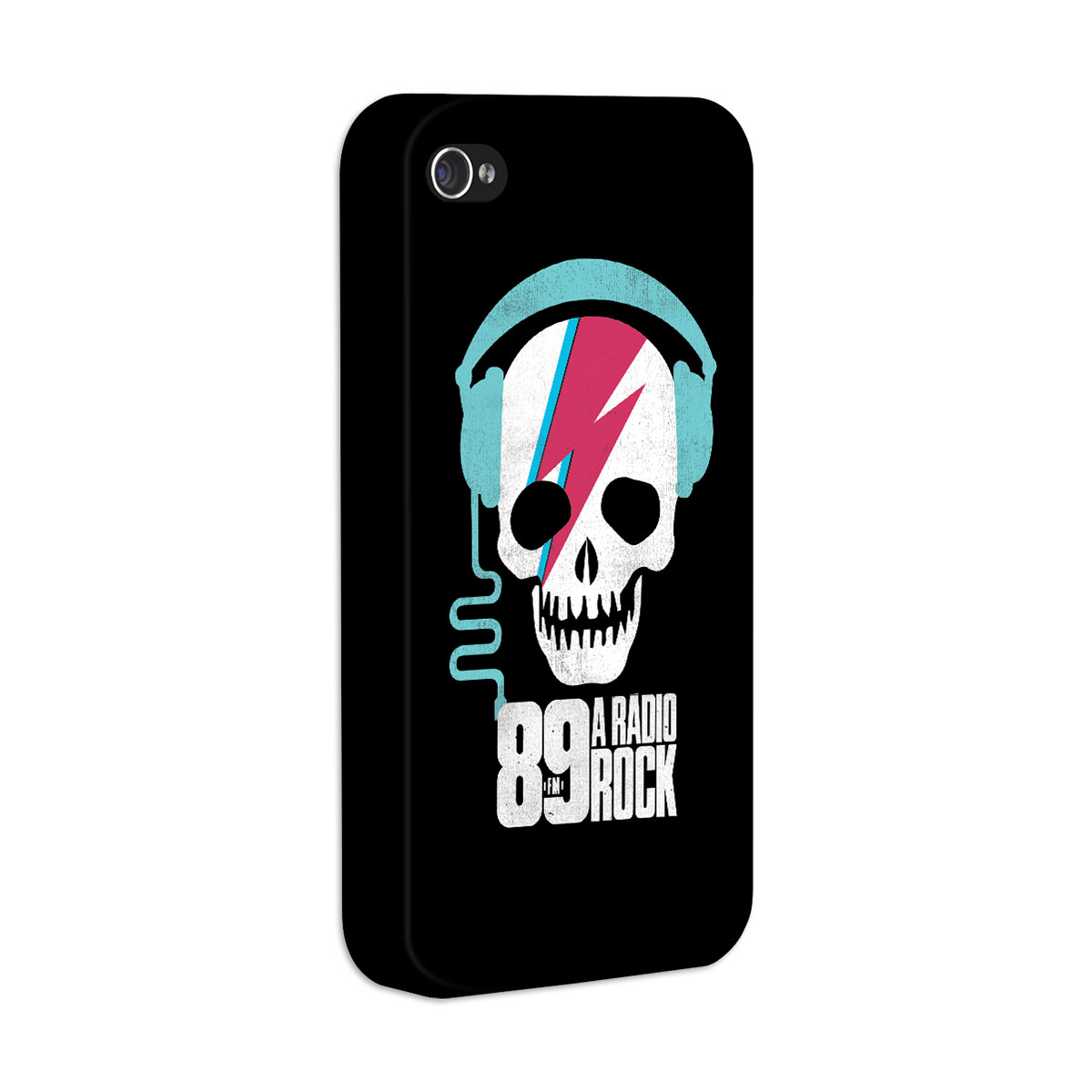 Capa de iPhone 4/4S 89 FM - Thunder Skull