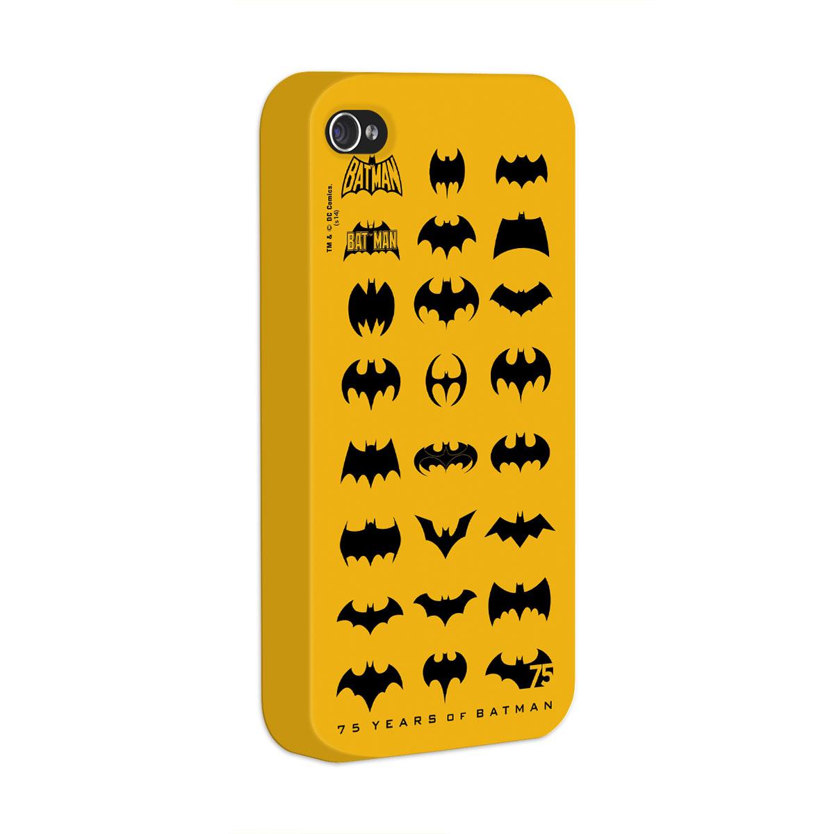Capa de iPhone 4/4S Batman 75 Anos Logos Collection