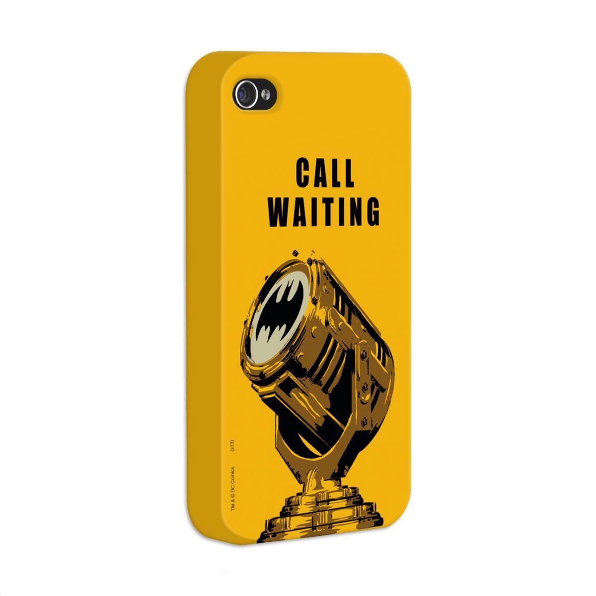 Capa de iPhone 4/4S Batman Chamada em Espera