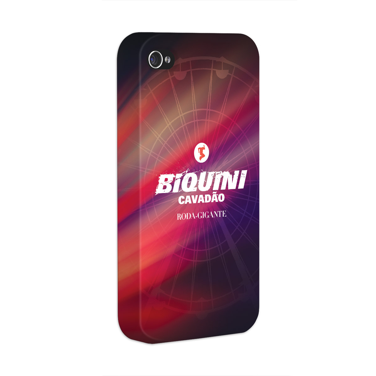 Capa de Iphone 4/4S Biquini Cavadão Logo