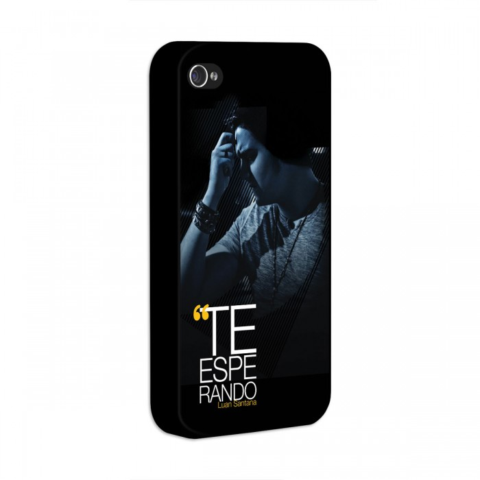 Capa de iPhone 4/4S Luan Santana Te Esperando