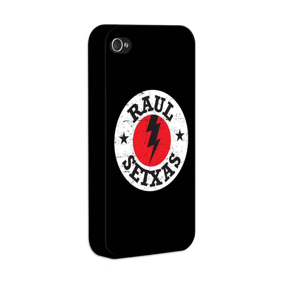 Capa de iPhone 4/4S Raul Seixas Logo de Raio