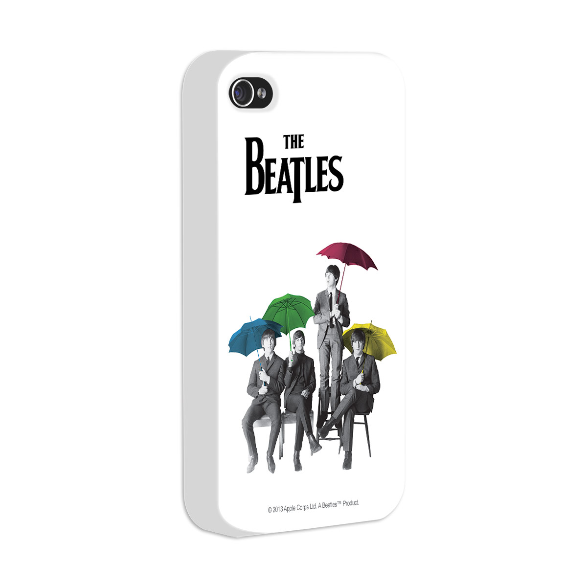 Capa de iPhone 4/4S The Beatles Umbrella Colors