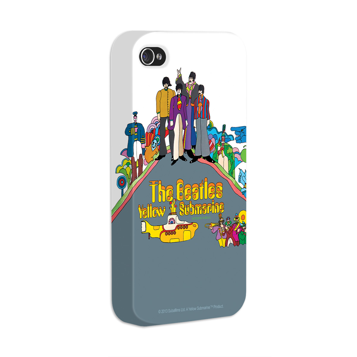 Capa de iPhone 4/4S The Beatles Yellow Submarine Nothing Is Real