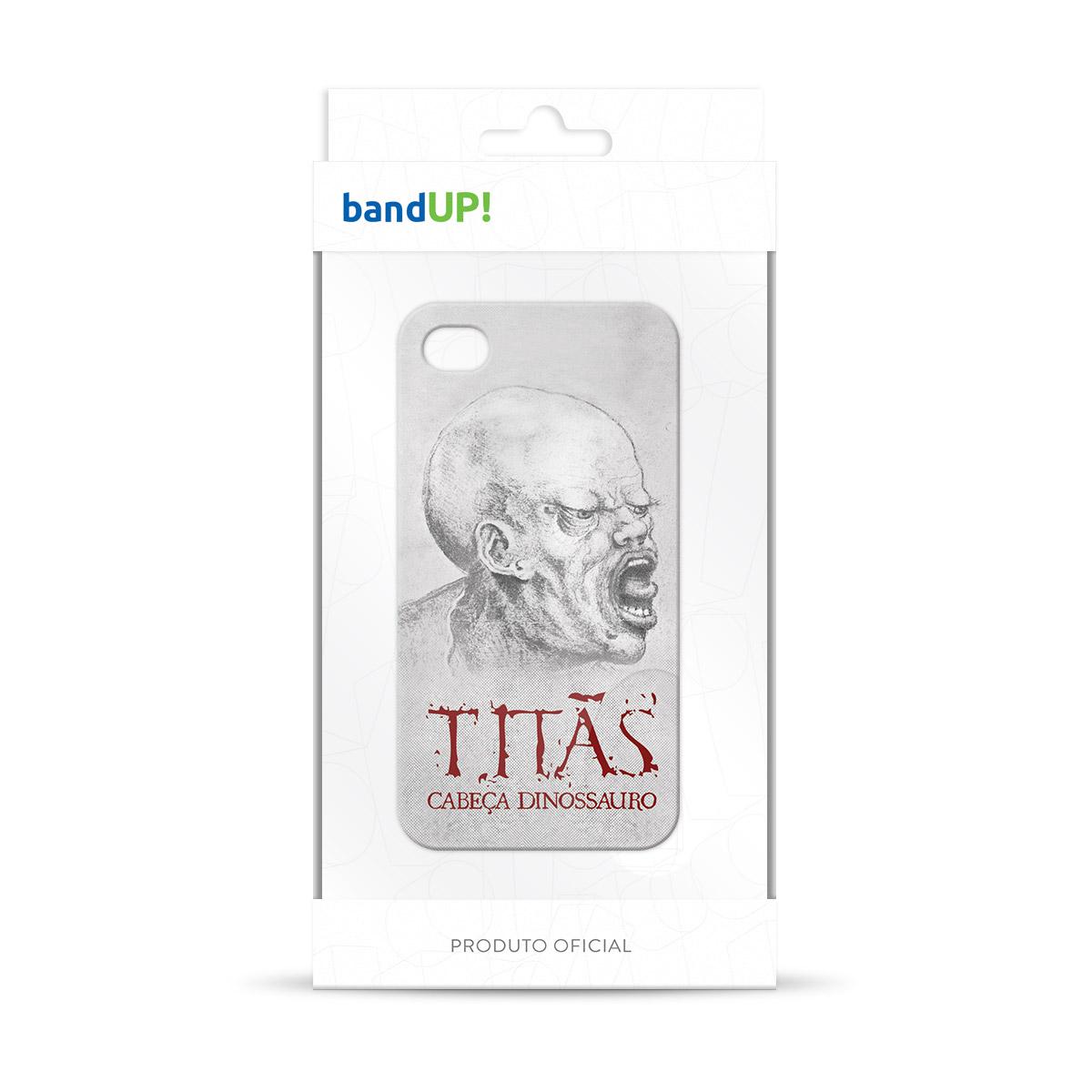 Capa de iPhone 4/4S Titãs Cabeça Dinossauro