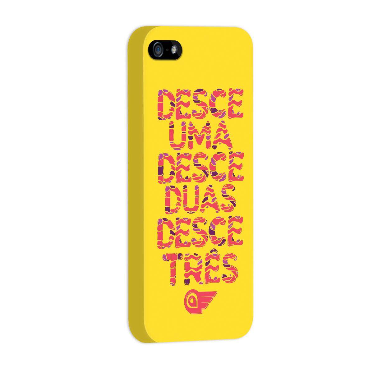 Capa de iPhone 5/5S Aviões do Forró Desce Duas