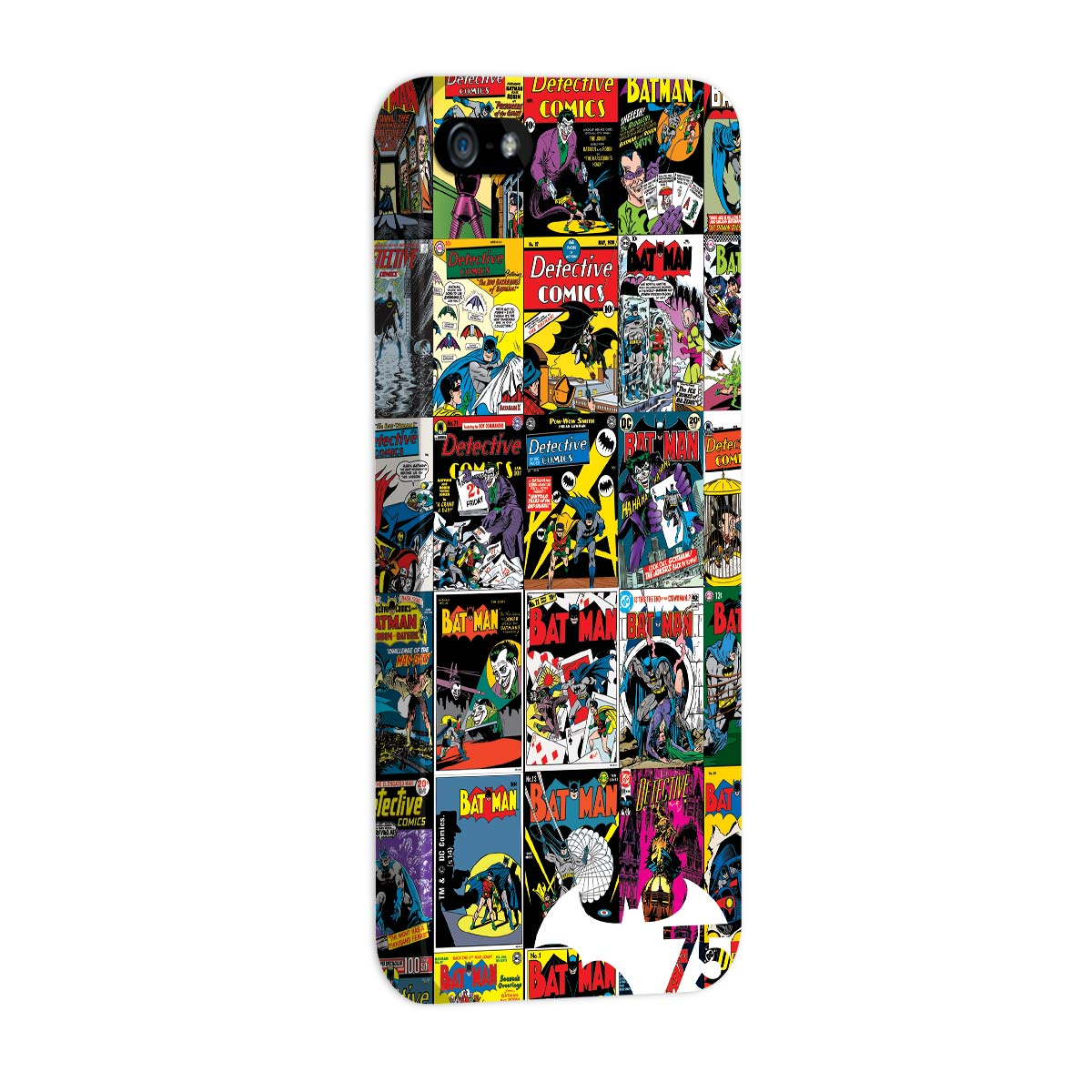 Capa de iPhone 5/5S Batman 75 Anos HQ