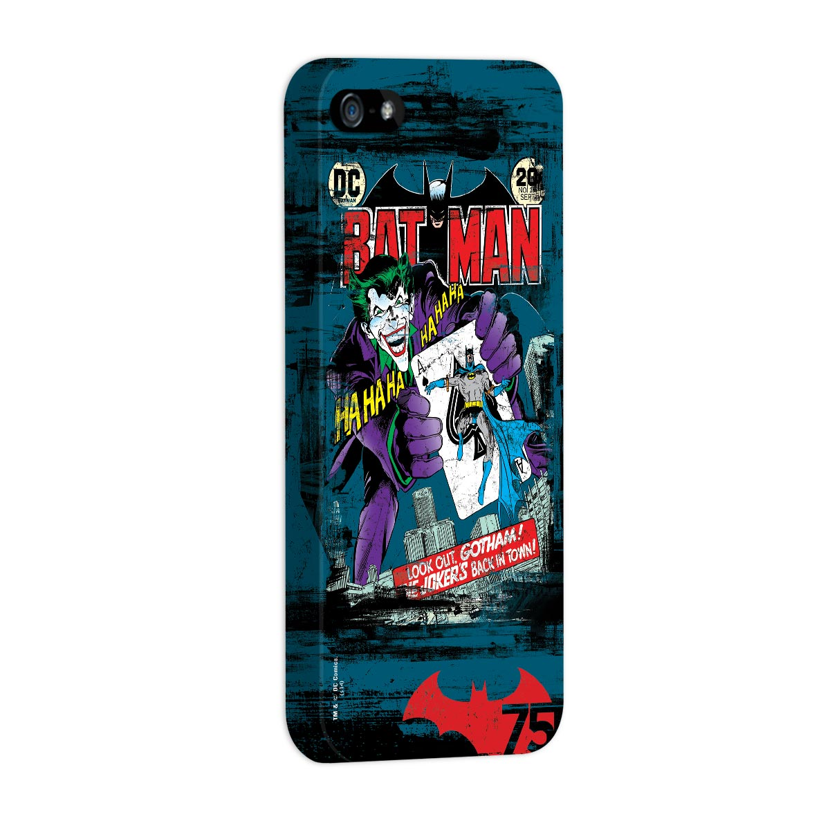 Capa de iPhone 5/5S Batman 75 Anos HQ Nº251