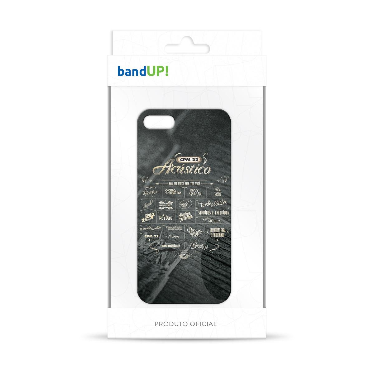 Capa de iPhone 5/5S CPM 22 Setlist