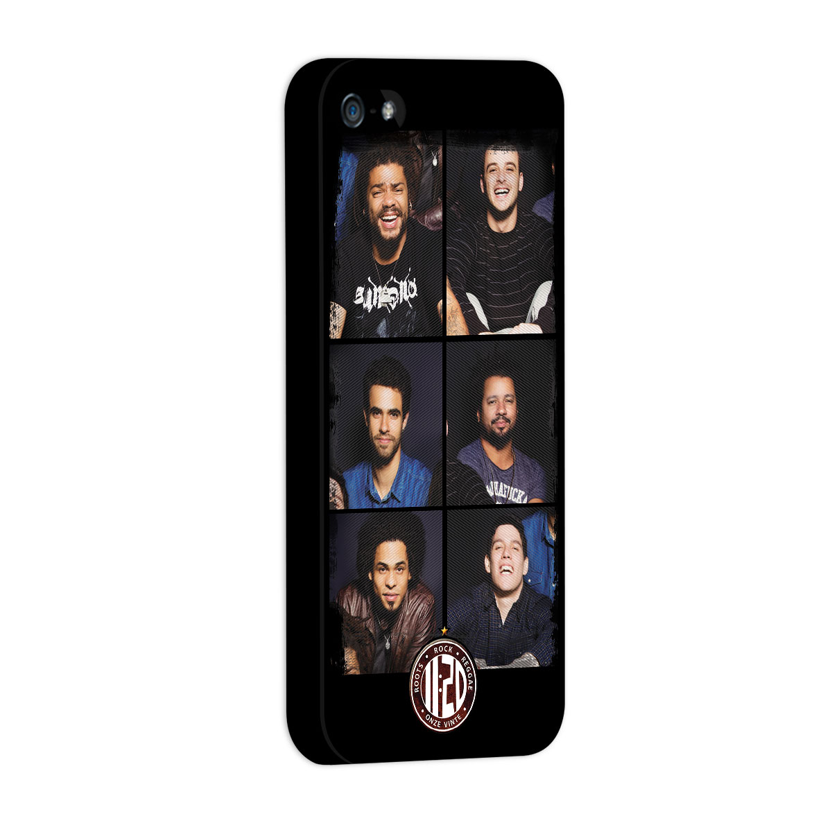 Capa de iPhone 5/5S Onze:20 Faces