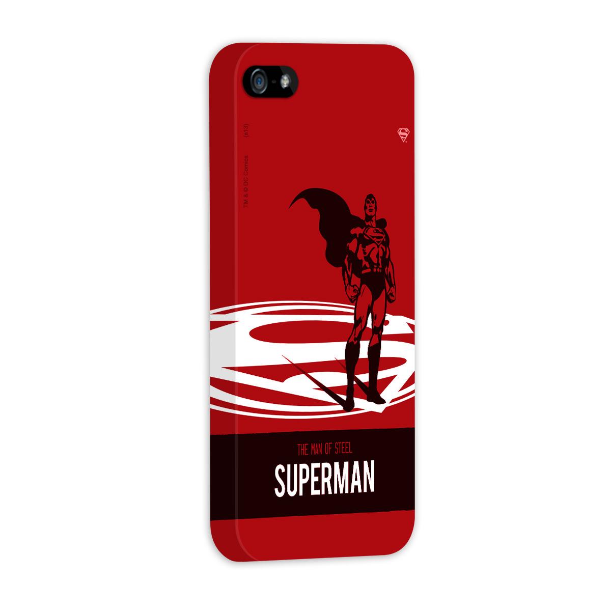 Capa de iPhone 5/5S Superman The Man of Steel