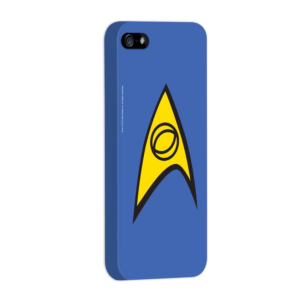 Capa de iPhone 5/5S Star Trek  Command Blue