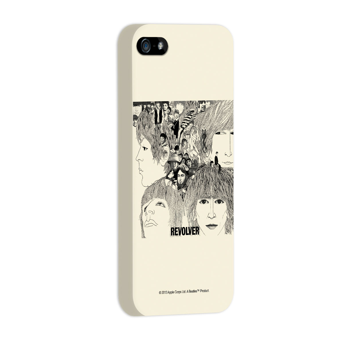 Capa de iPhone 5/5S The Beatles Revolver