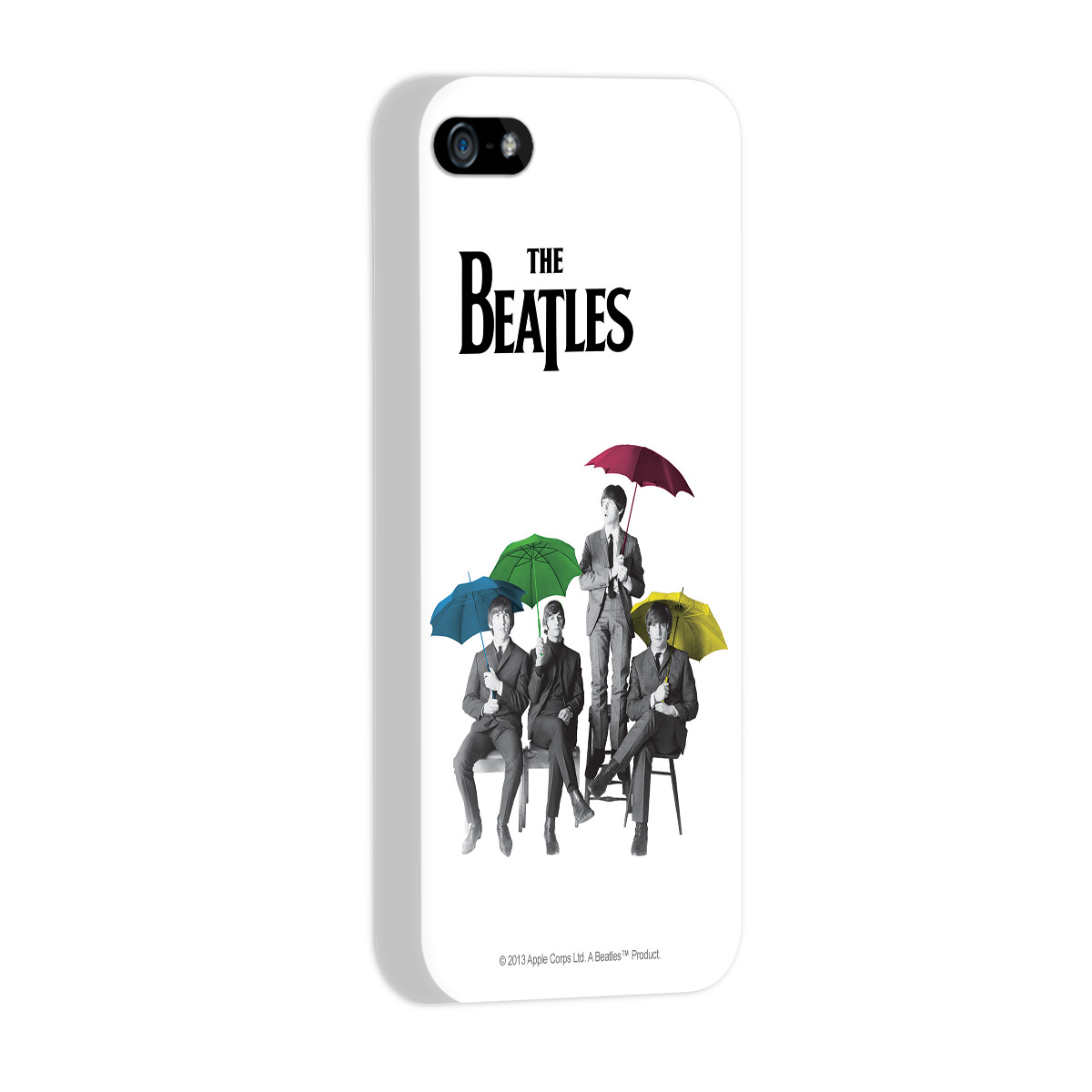 Capa de iPhone 5/5S The Beatles Umbrella Colors
