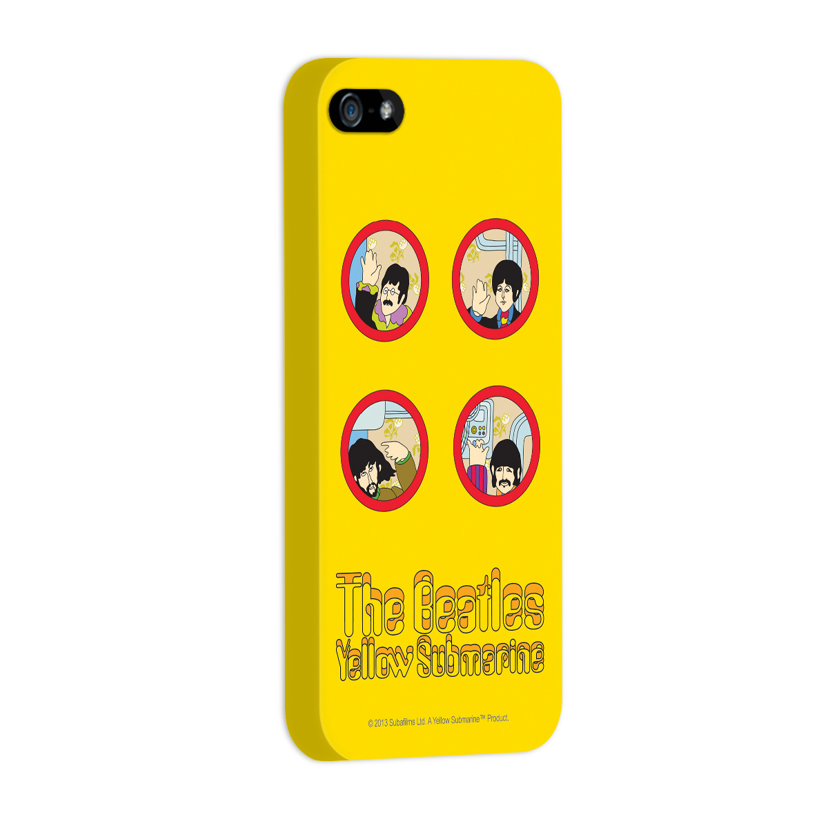 Capa de iPhone 5/5S The Beatles Yellow Submarine 1