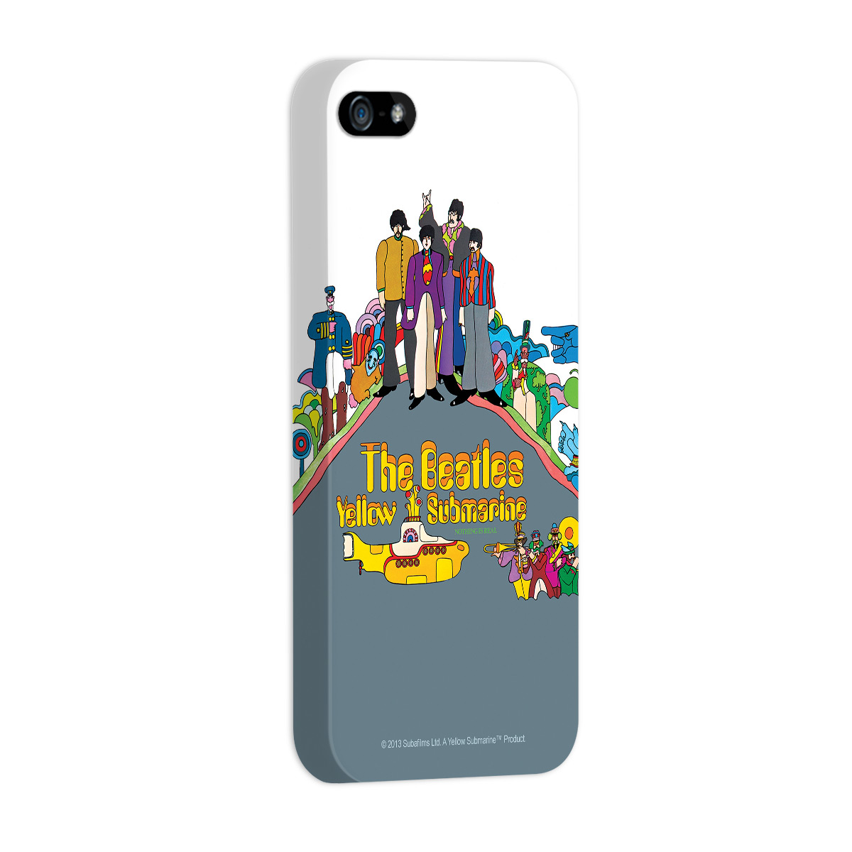 Capa de iPhone 5/5S The Beatles Yellow Submarine Nothing Is Real