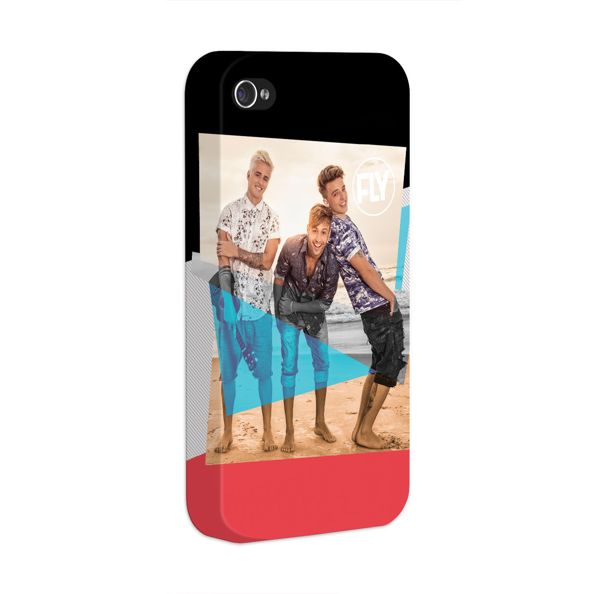 Capa para iPhone 4/4S Banda Fly Foto Colors