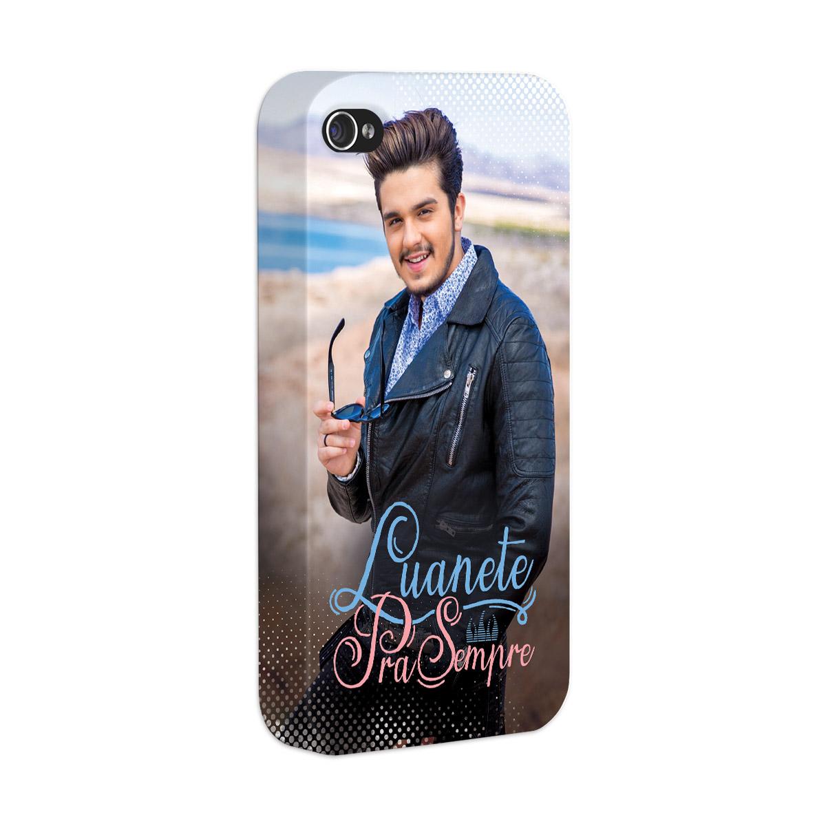Capa para iPhone 4/4S Luan Santana Luanete Pra Sempre
