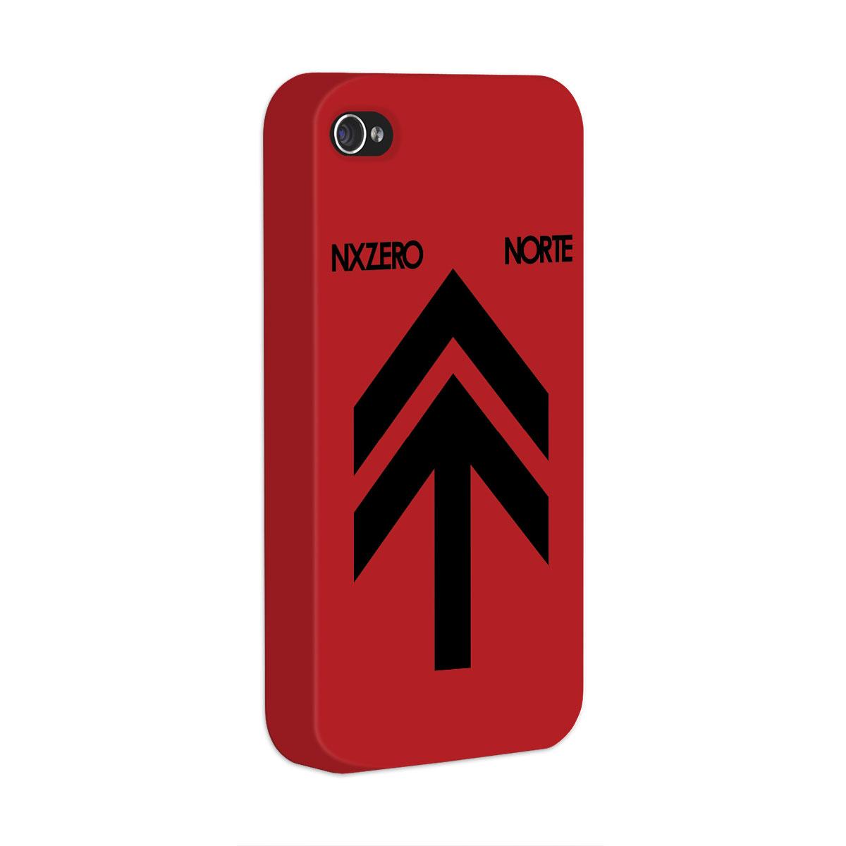 Capa Para iPhone 4/4S NXZero Capa Norte