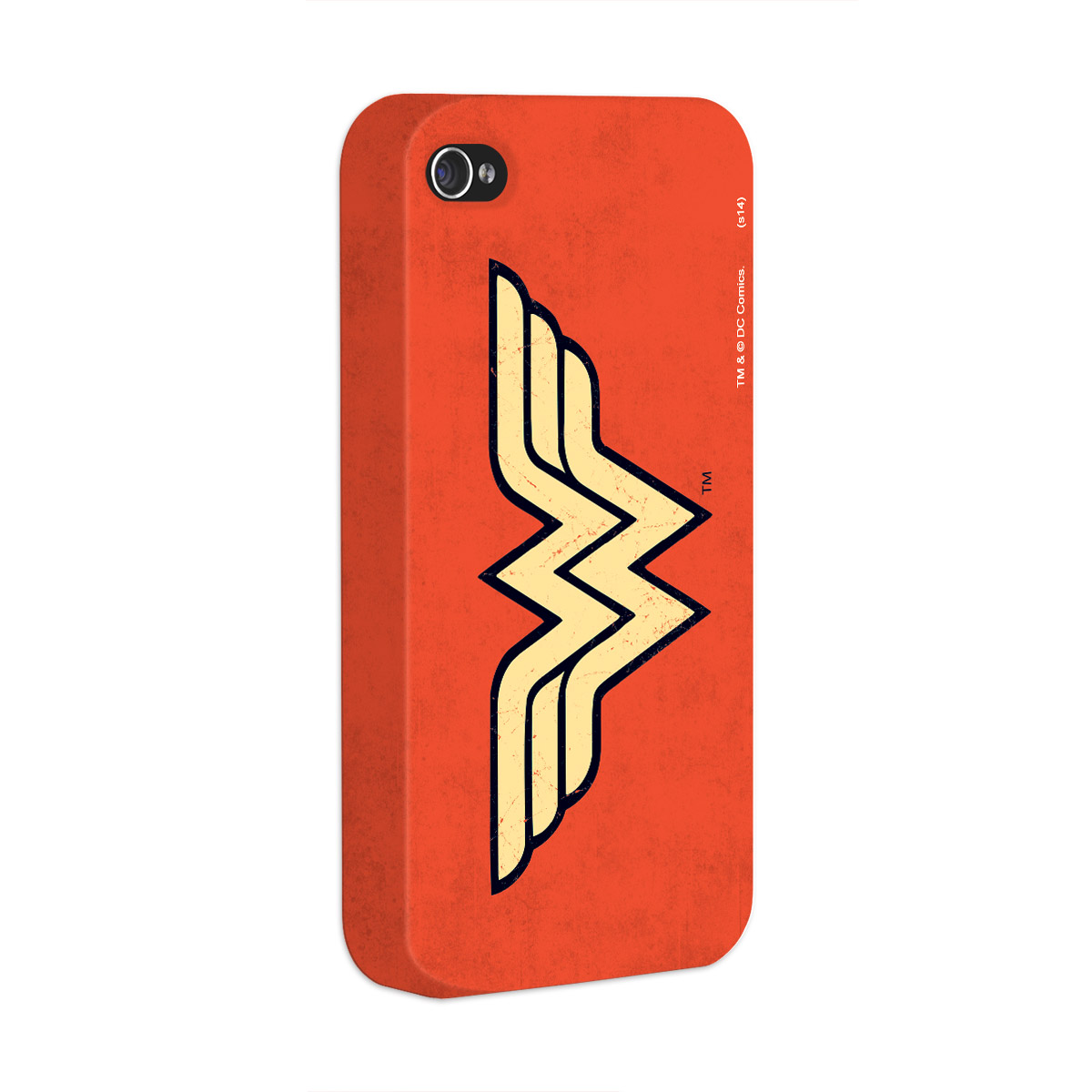 Capa Para iPhone 4/4S Power Girls Wonder Woman