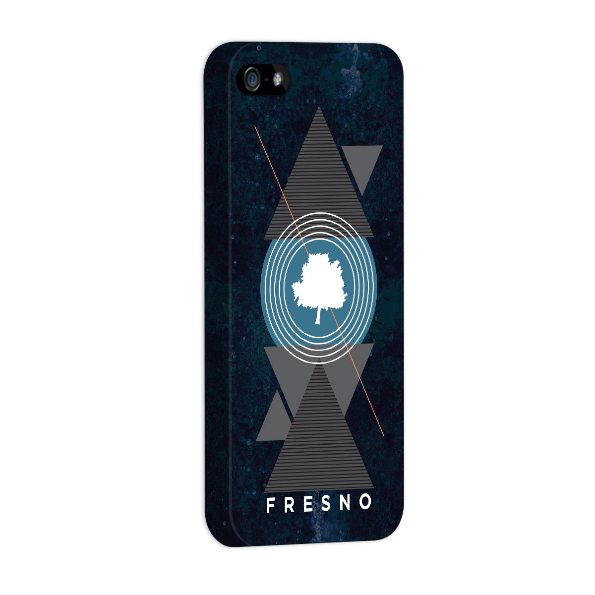 Capa para iPhone 5/5S Fresno Geometric