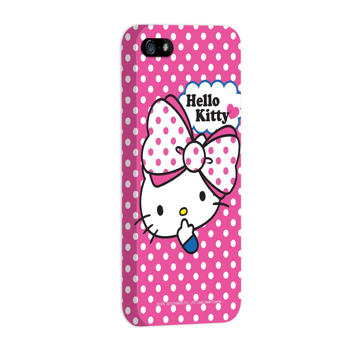Capa para iPhone 5/5S Hello Kitty Big Ribbon