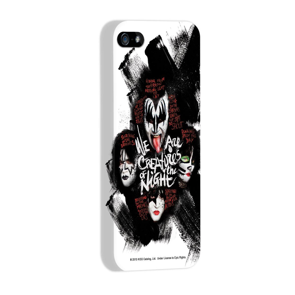 Capa para iPhone 5/5S Kiss Creatures Of The Night