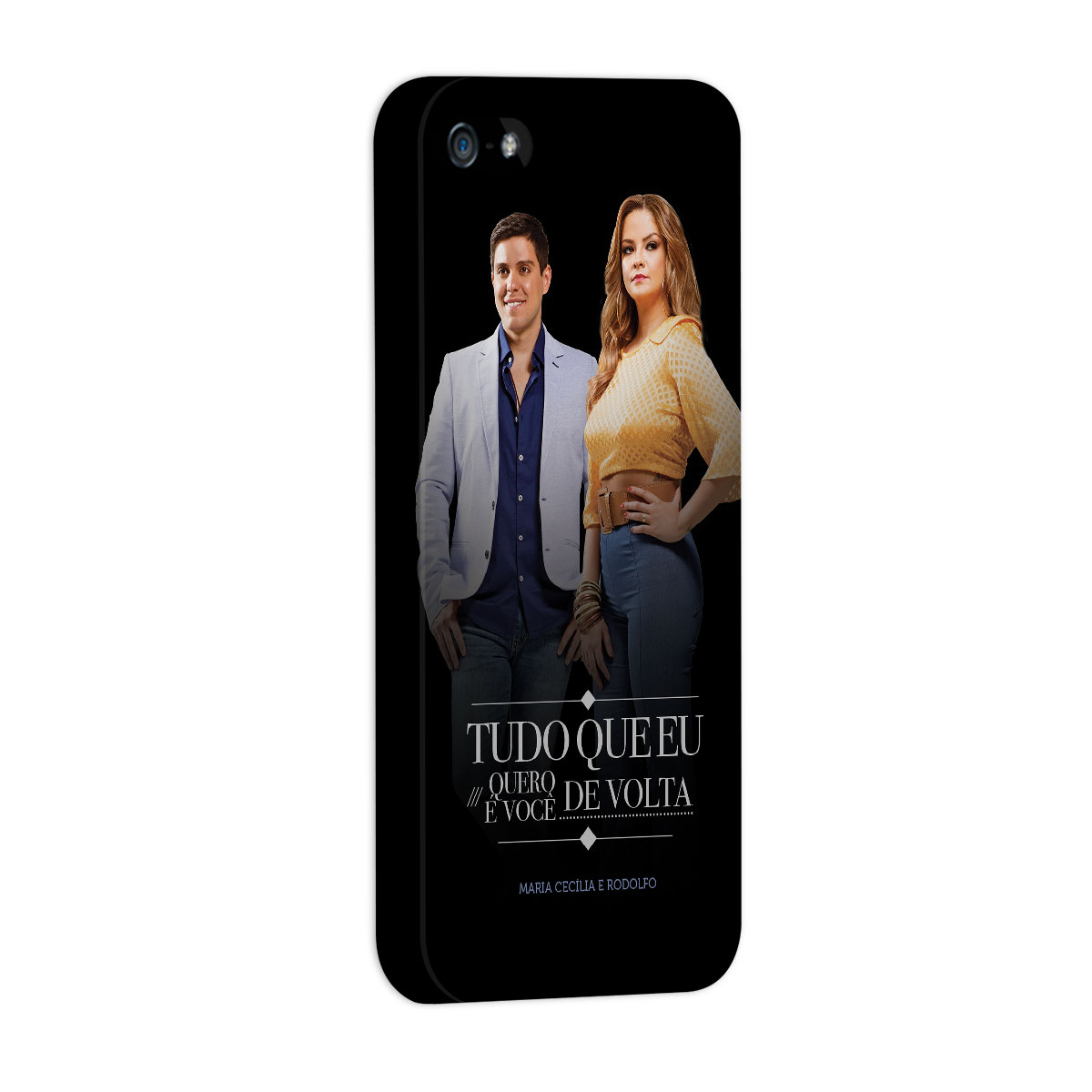 Capa para iPhone 5/5S Maria Cecília & Rodolfo Tudo Que Eu Quero