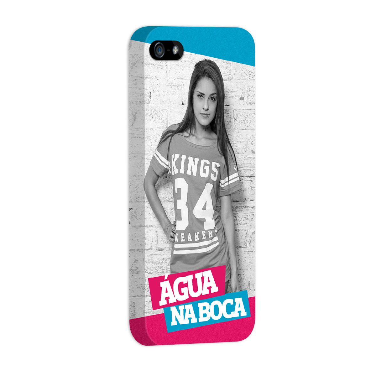 Capa para iPhone 5/5S MC Tati Zaqui Água na Boca