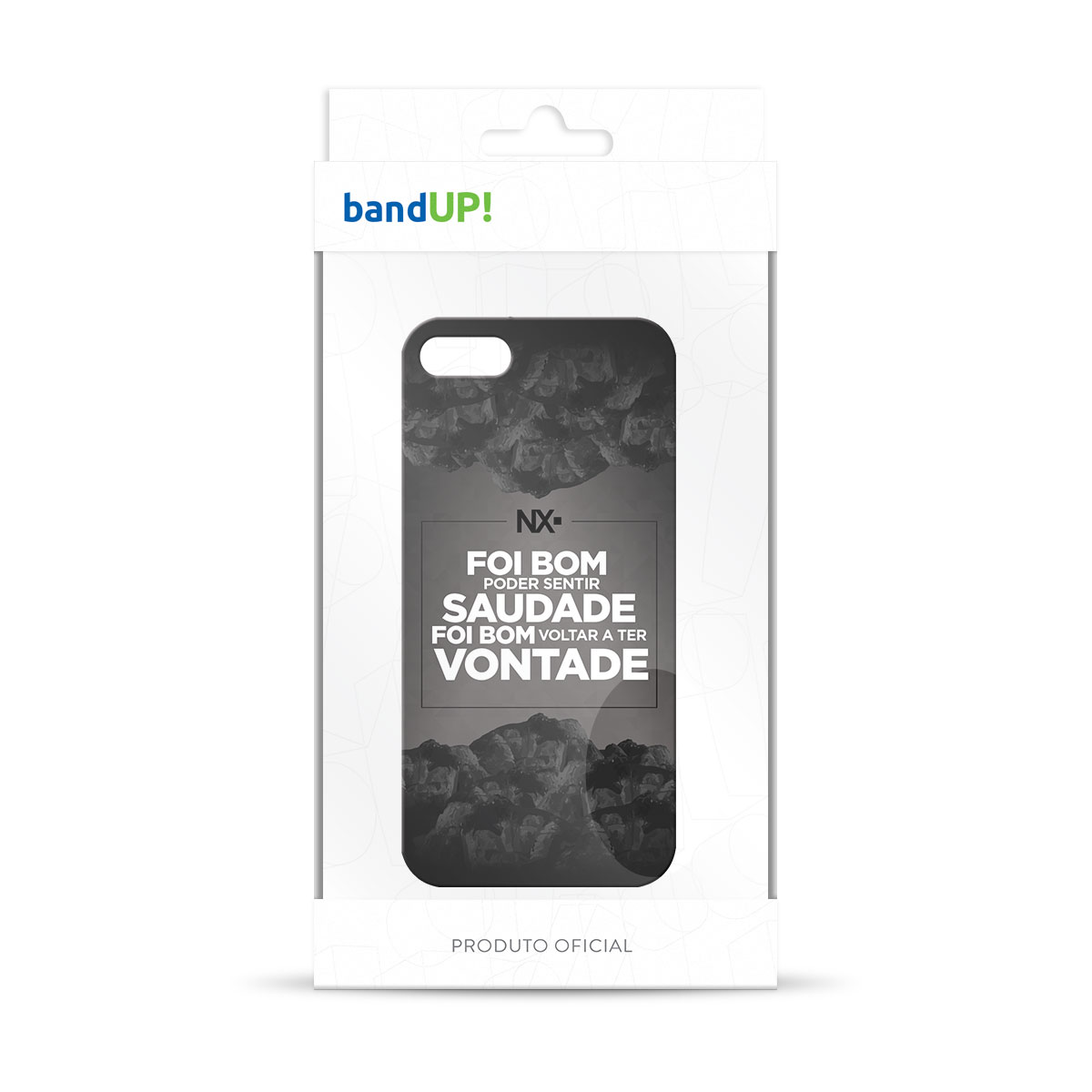 Capa para iPhone 5/5S NXZero Voltar a Ter Vontade