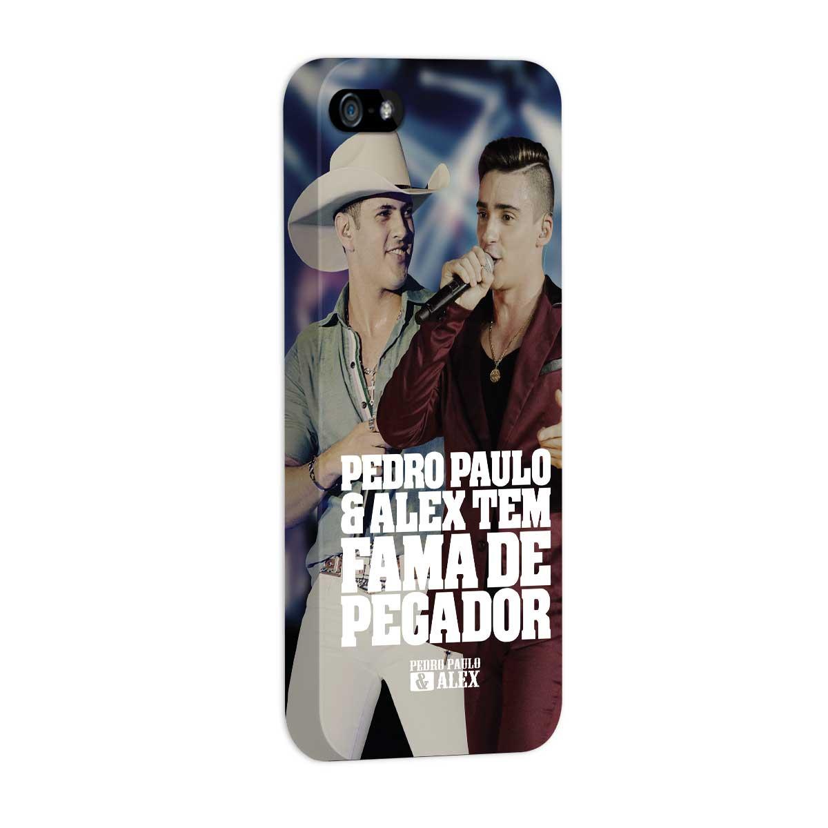 Capa para iPhone 5/5S Pedro Paulo & Alex Fama de Pegador