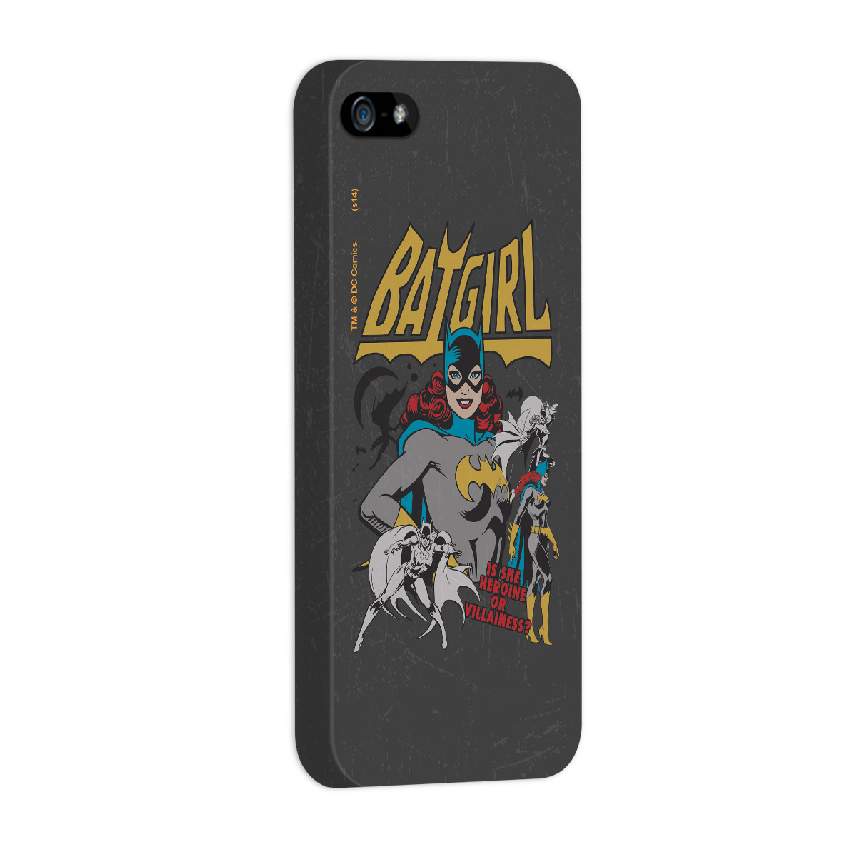 Capa Para iPhone 5/5S Power Girls Batgirl