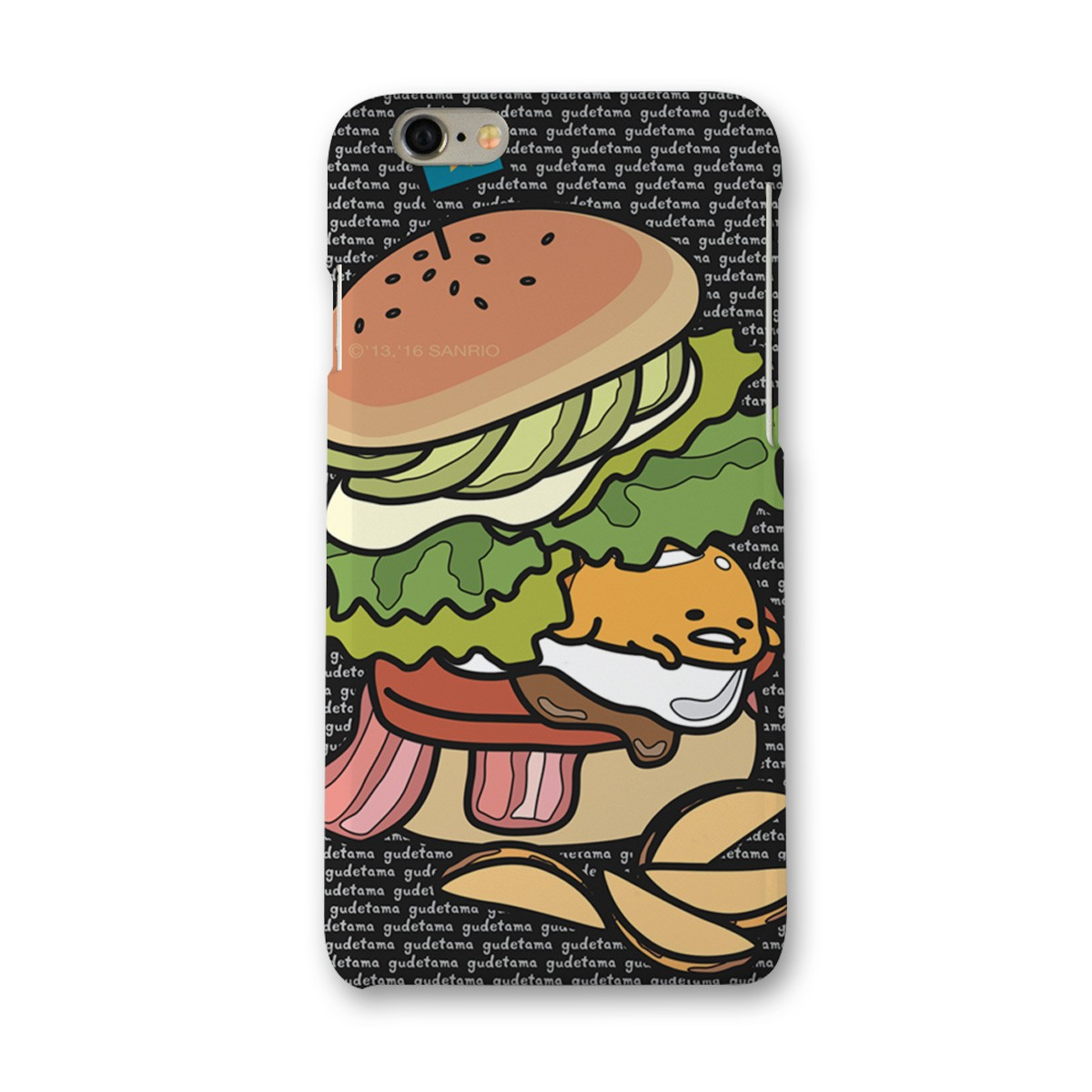 Capa para iPhone 6/6S Gudetama Burger