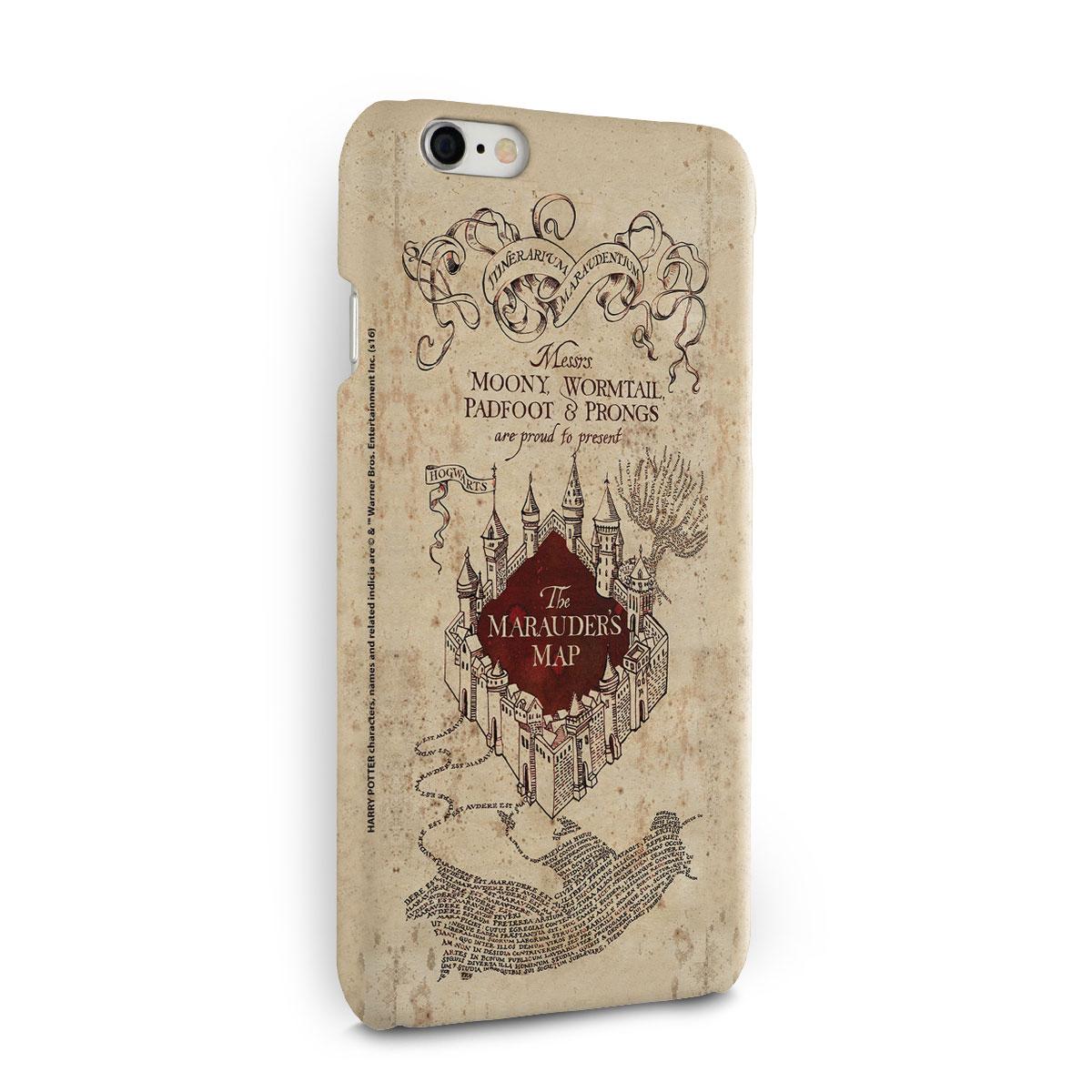 Capa para iPhone 6/6S Harry Potter The Marauder´s Map