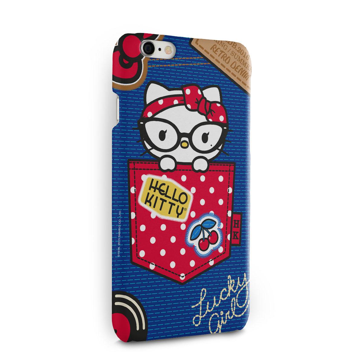 Capa para iPhone 6/6S Hello Kitty Retro Denim