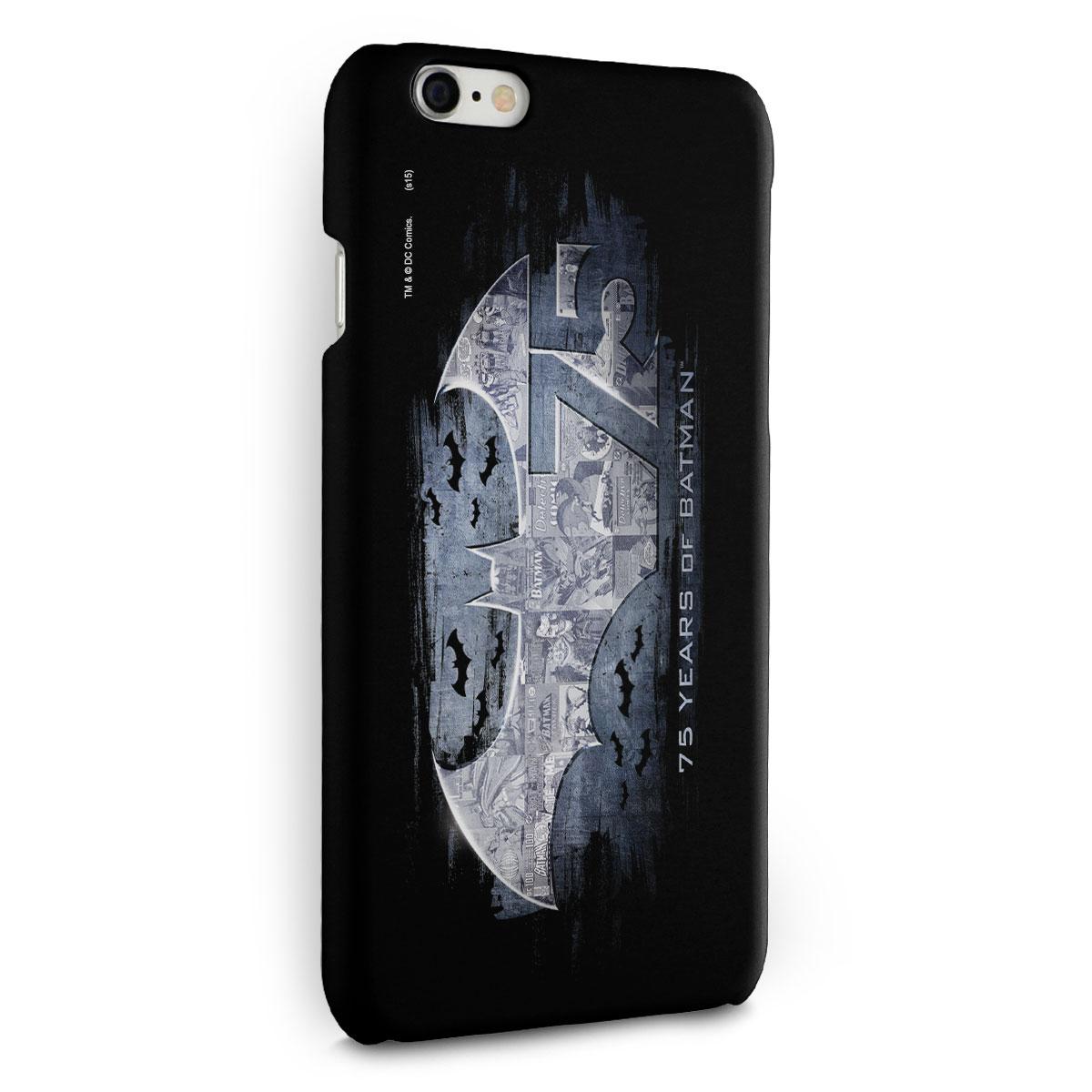 Capa para iPhone 6/6S Plus Batman 75 Anos Logo 2