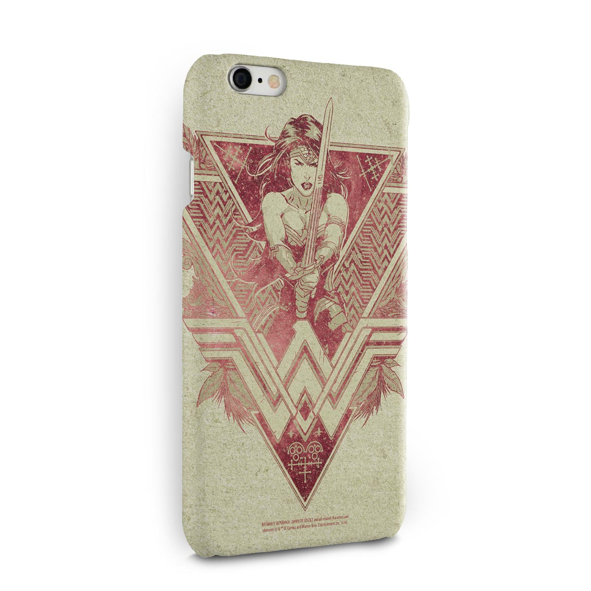 Capa para iPhone 6/6S Wonder Woman Warrior