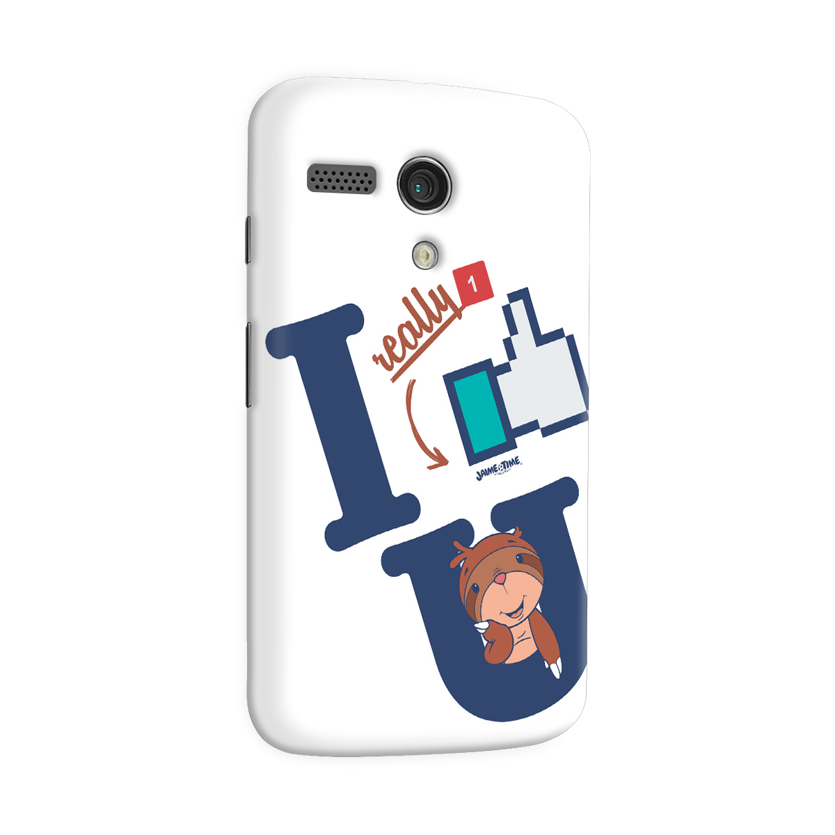Capa para Motorola Moto G 1 Jaime I Like You