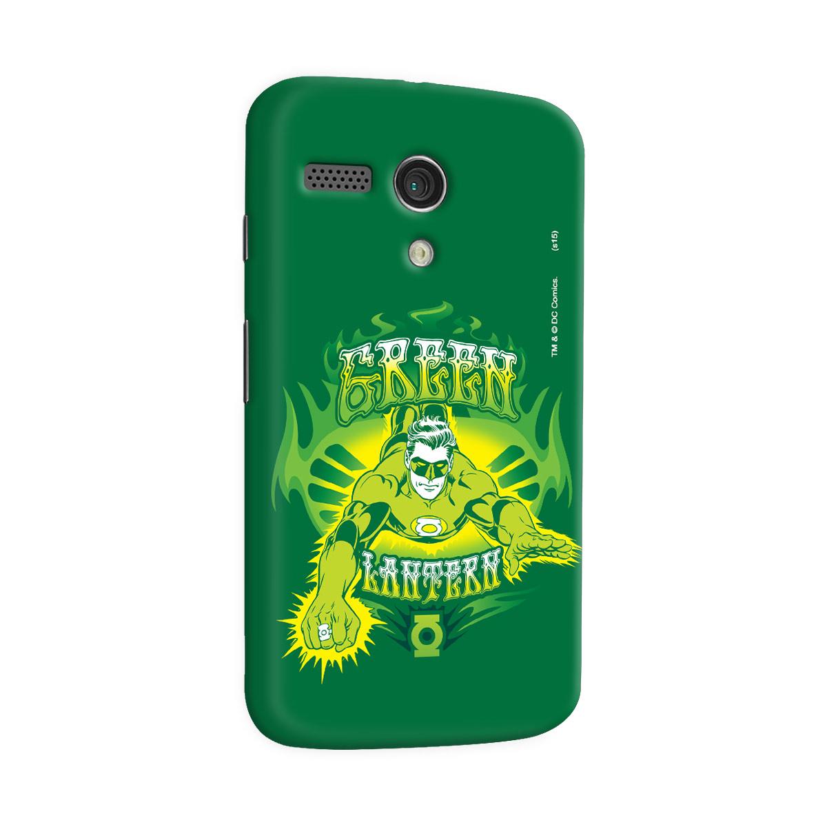 Capa para Motorola Moto G 1 Lanterna Verde Em Ação