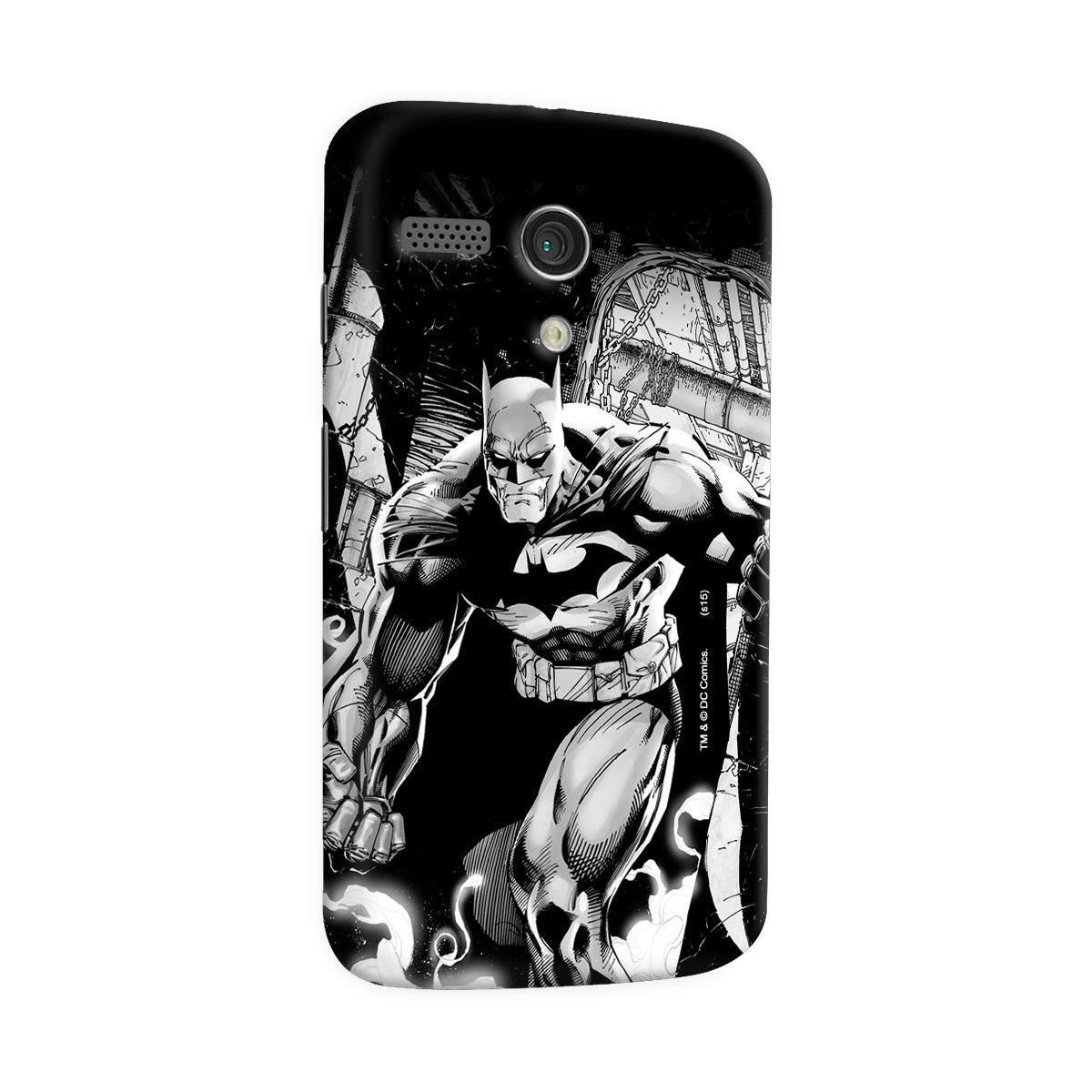 Capa para Motorola Moto G 1 Tracing Batman