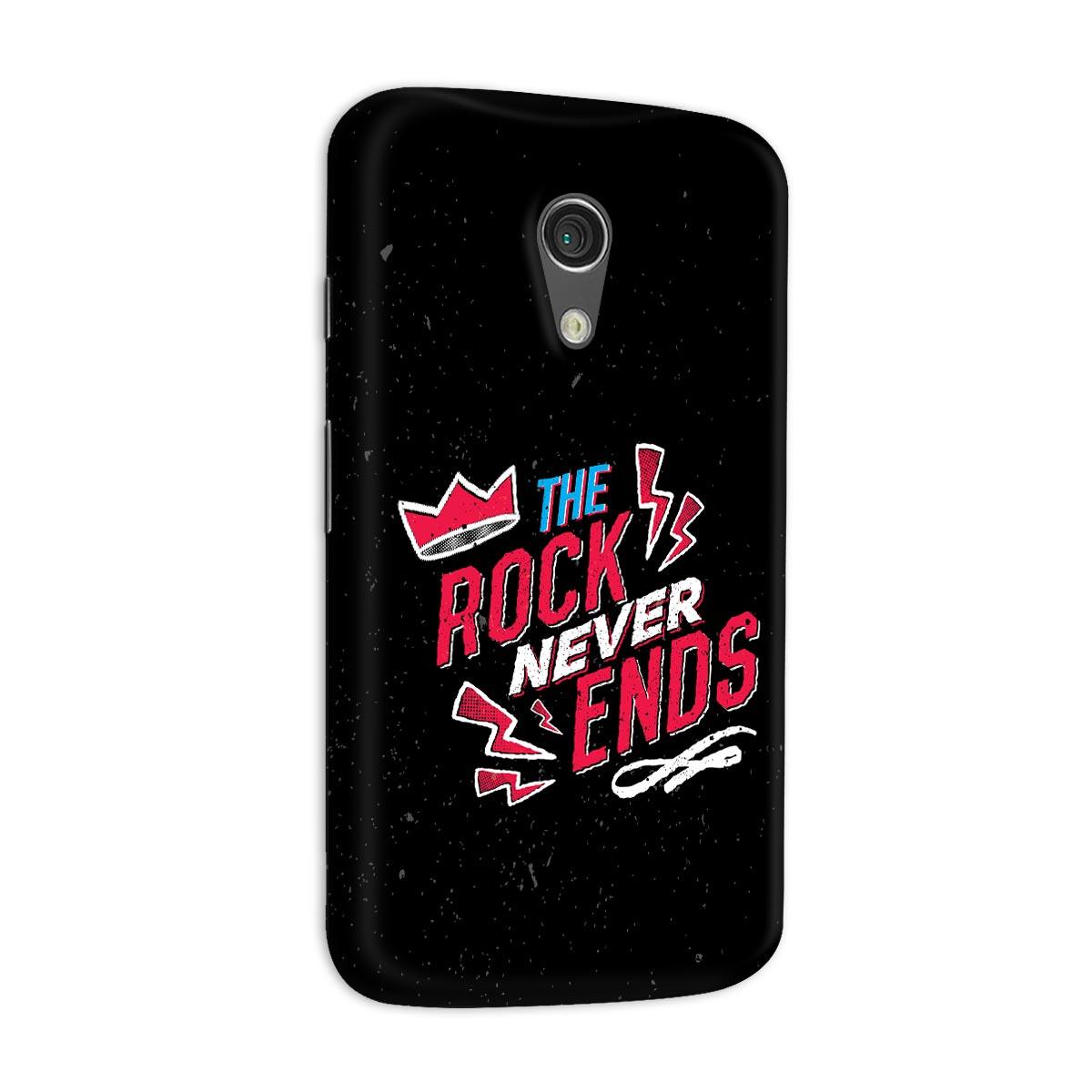 Capa para Motorola Moto G 2 89FM A Rádio Rock 30 Anos The Rock Never Ends
