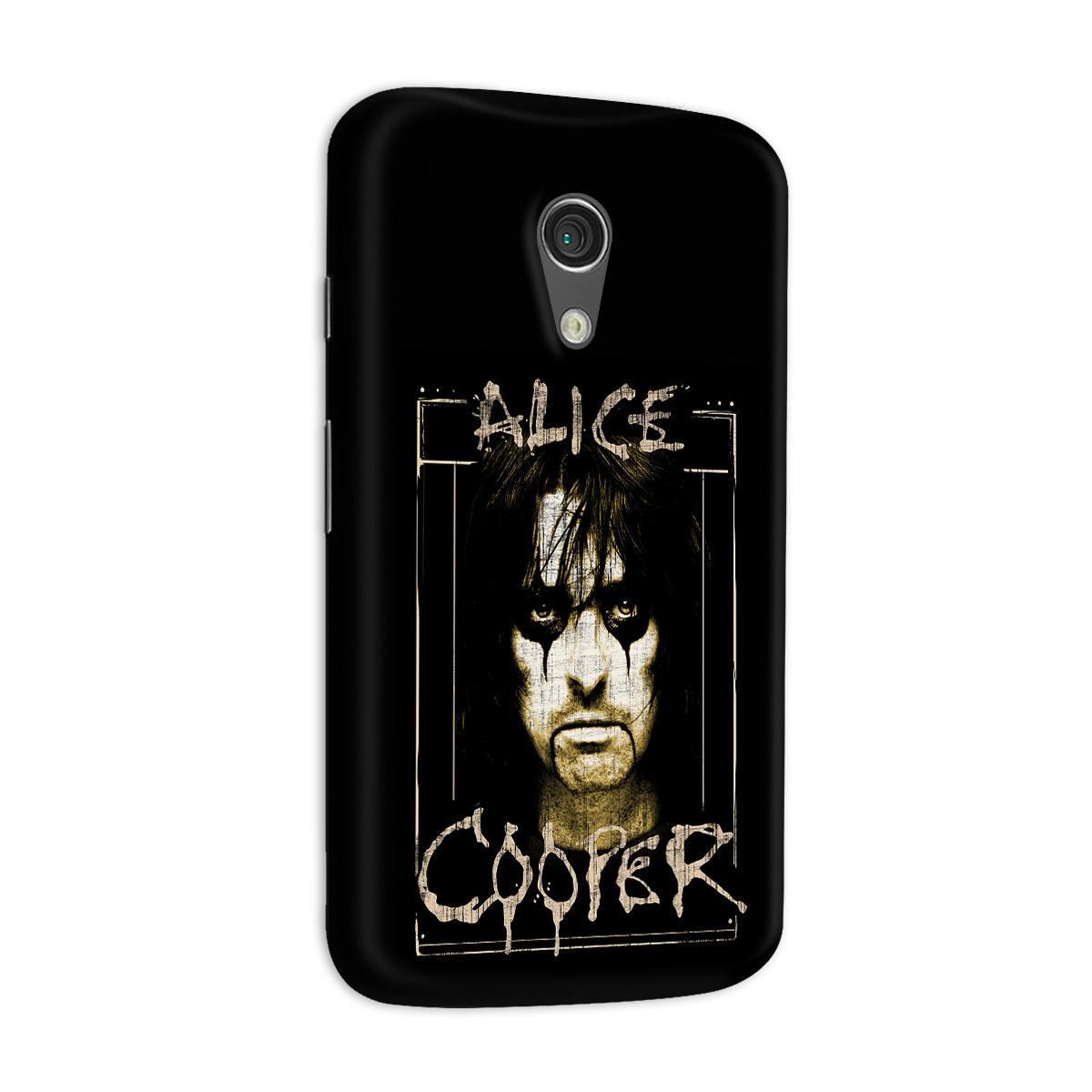Capa para Motorola Moto G 2 Alice Cooper Photo