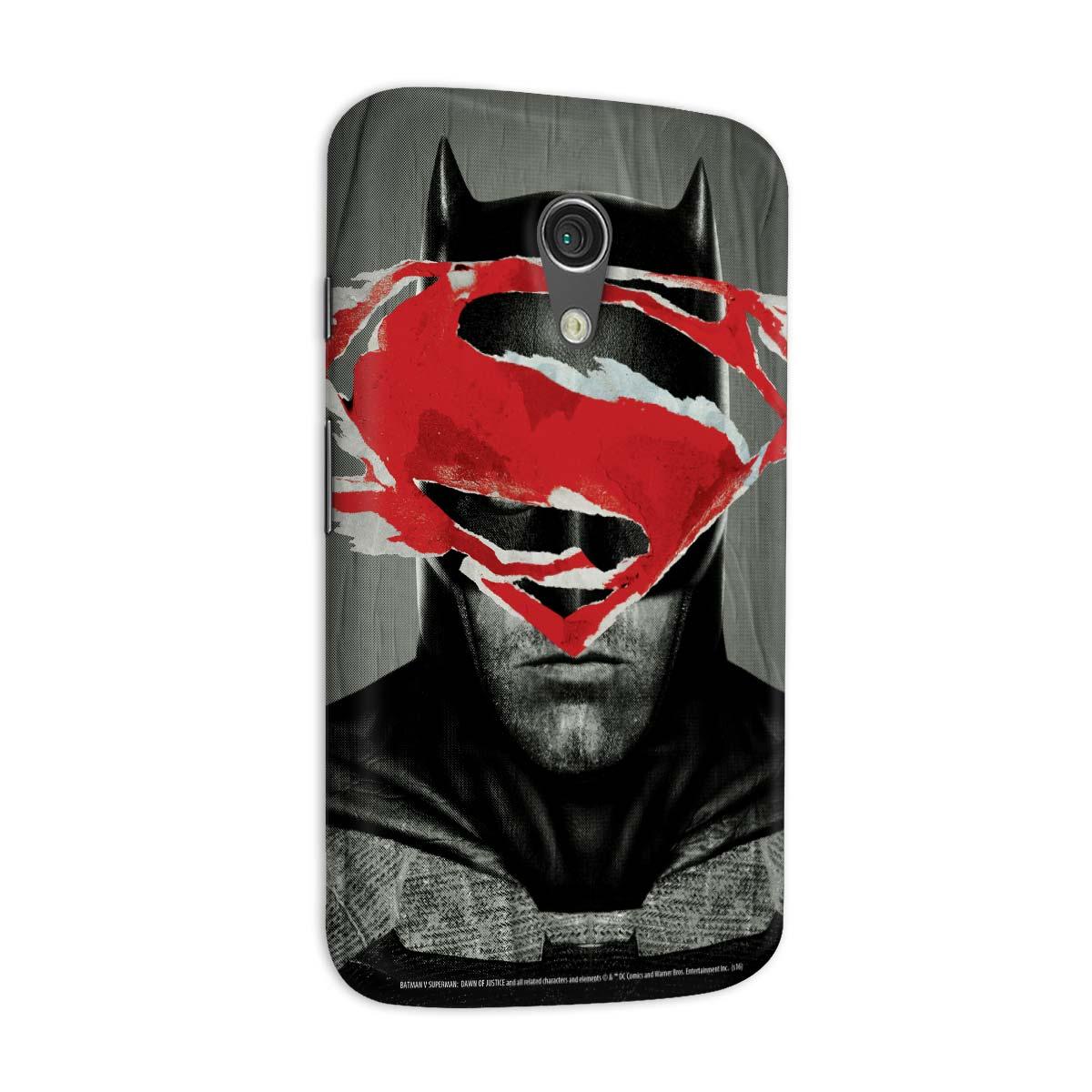 Capa para Motorola Moto G 2 Batman VS Superman Day VS Night