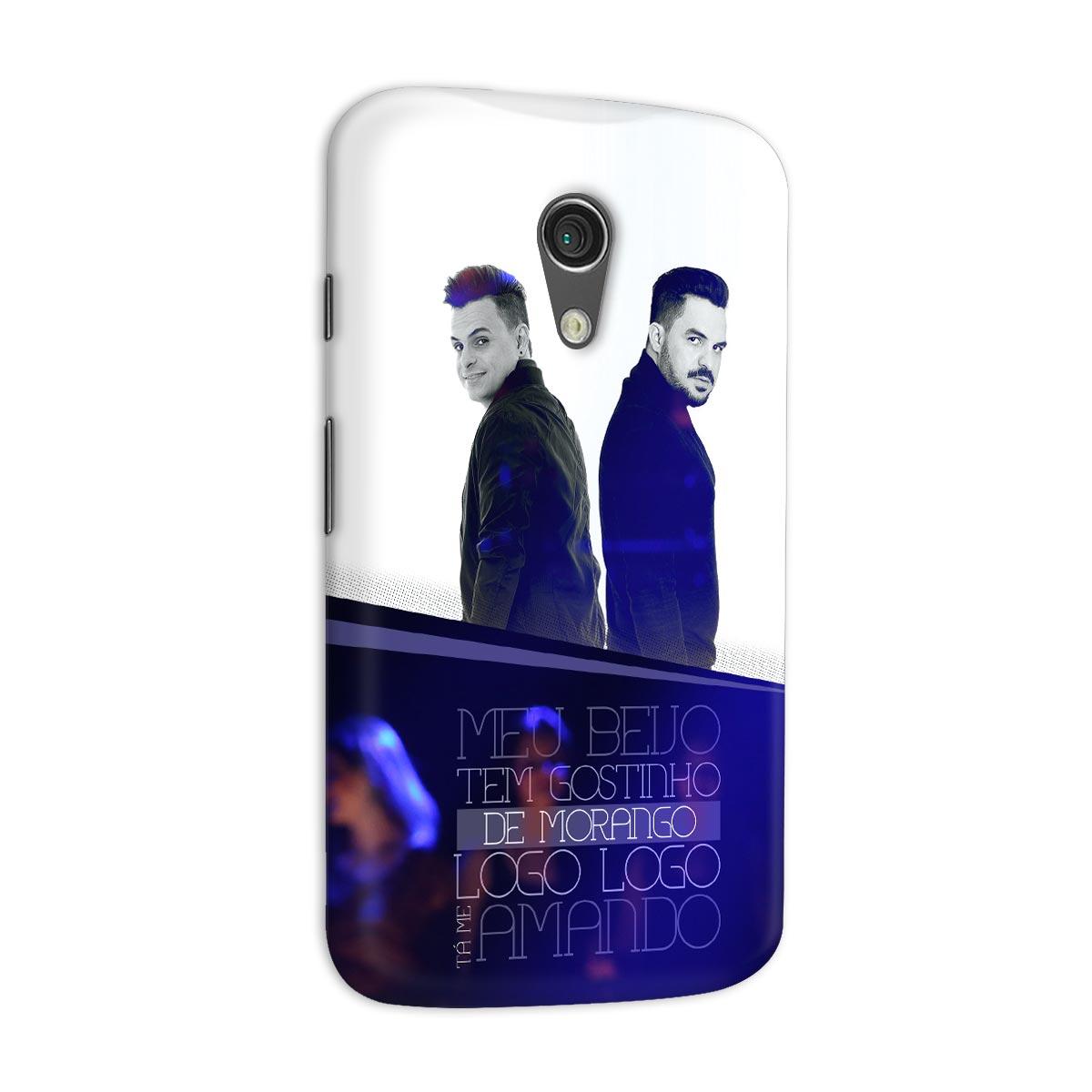 Capa para Motorola Moto G 2 Carlos & Jader Meu Beijo