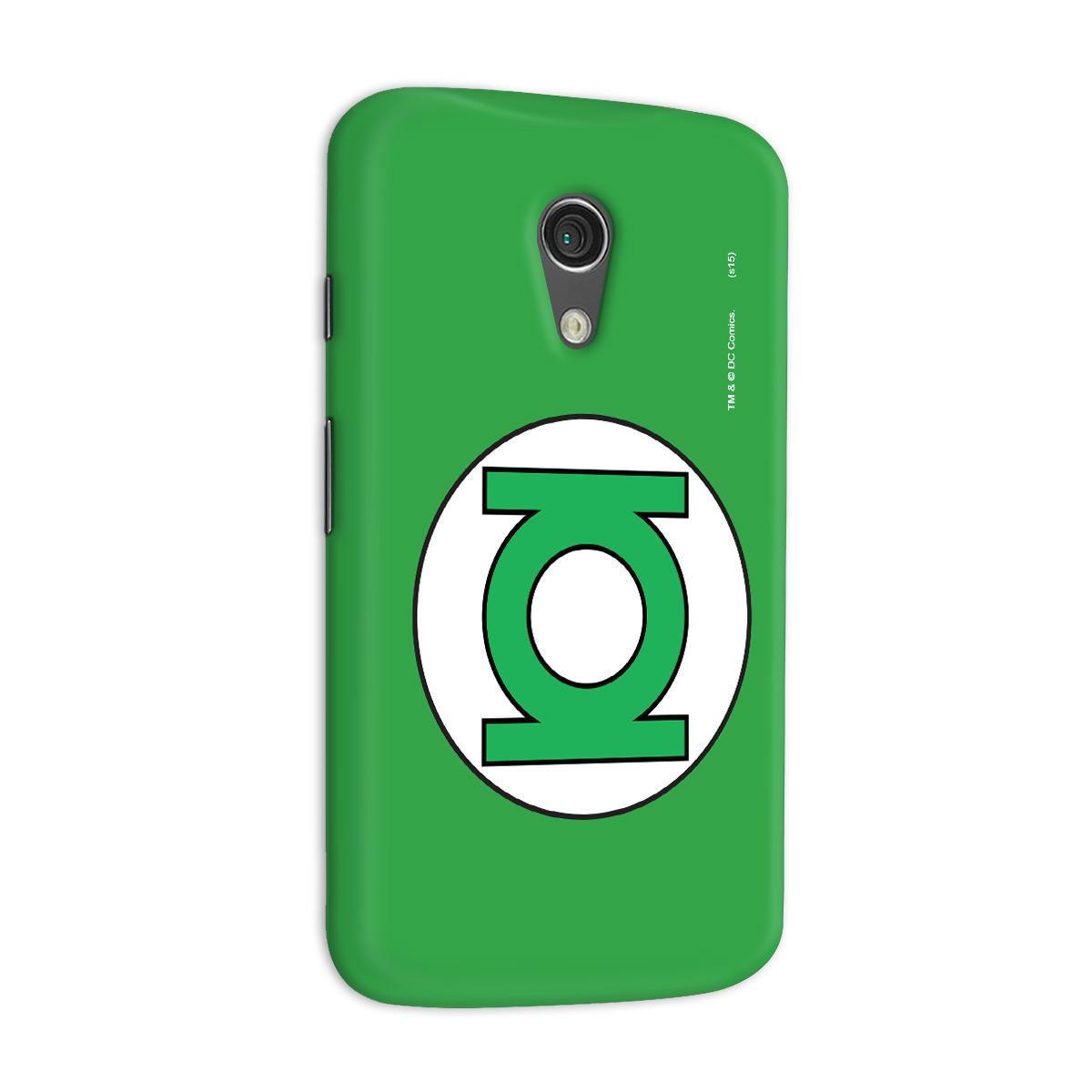 Capa para Motorola Moto G 2 Lanterna Verde Logo