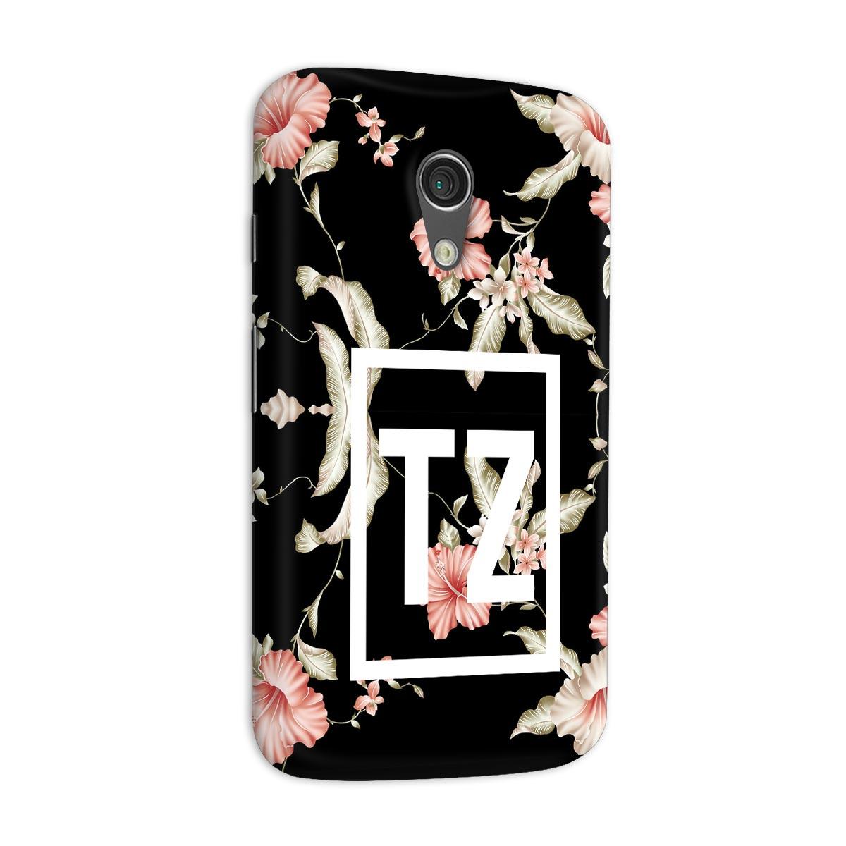 Capa para Motorola Moto G 2 MC Tati Zaqui Flowers