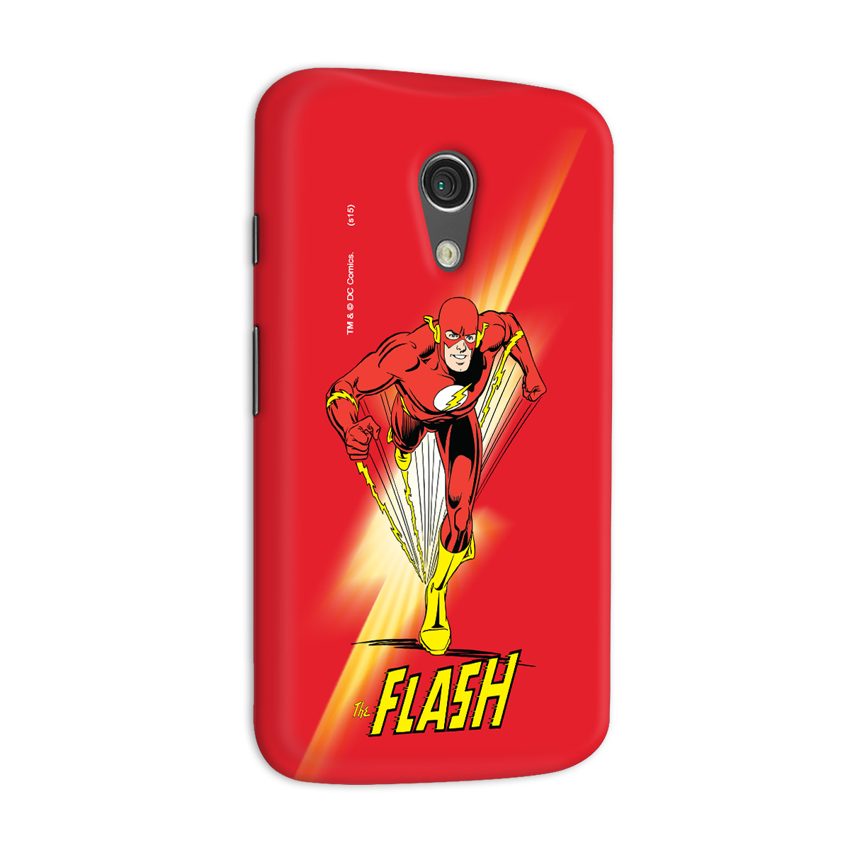 Capa para Motorola Moto G 2 The Flash Em Ação
