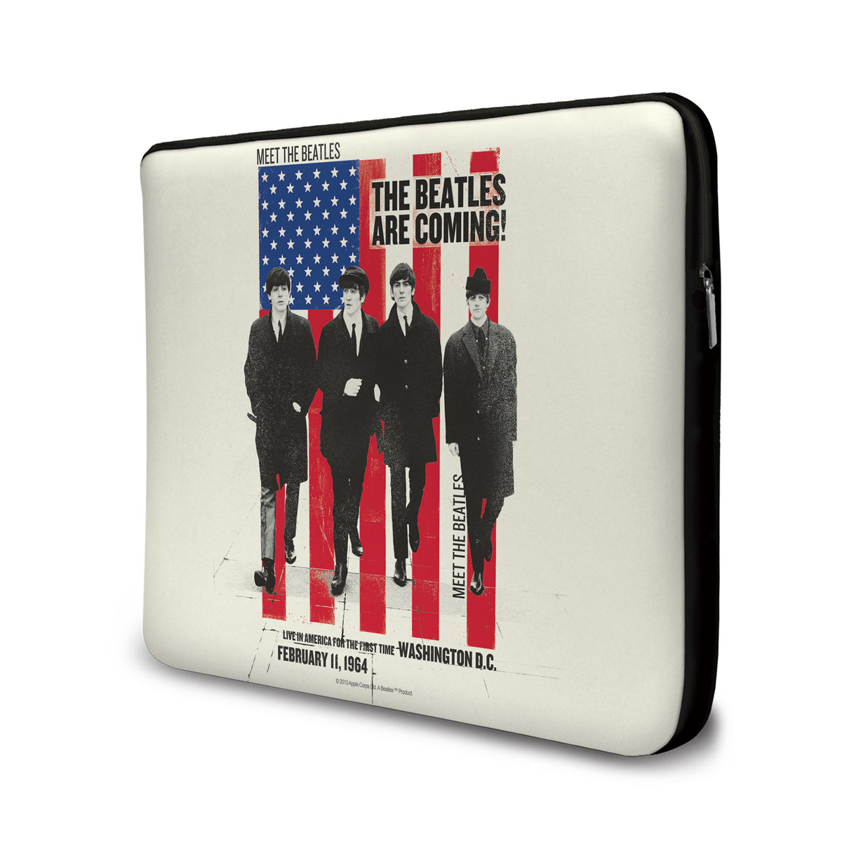 Capa Para Notebook The Beatles Are Coming